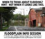 Public Floodplain Information Session
