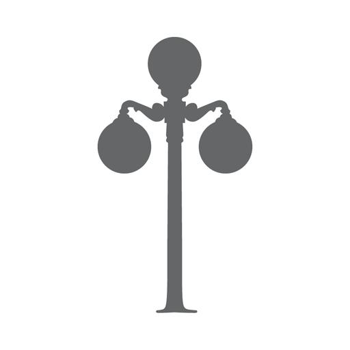 Logo Lamp Post Only