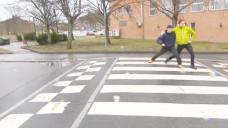 Norwegian Crosswalk Inspires Silly Walks